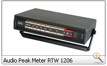 Audio Peak Meter RTW 1206