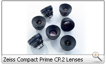 Zeiss Compact Prime CP.2 Lenses