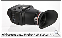 Alphatron View Finder EVF-035W-3G
