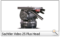 Sachtler Video 25 Plus Head