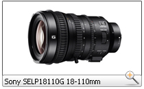 Sony SELP18110G 18-110mm